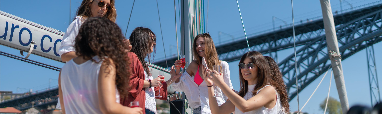 Despedida de Solteira Rio Douro | BBDouro - We do Sailing