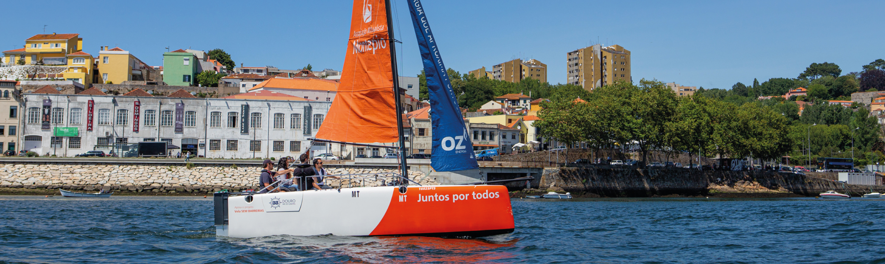 Vela Adaptada Porto | BBDouro - We do Sailing ForALL