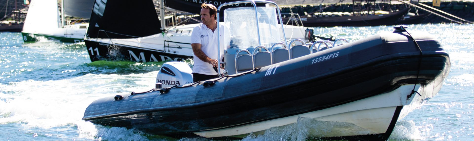 Semi-rígido Porto   BBDouro - We do Sailing