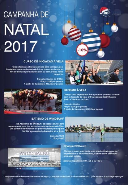Natal Porto Vela | BBDouro - We do Sailing