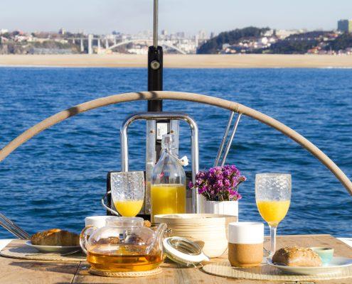 Refeições a Bordo Porto | BBDouro - We do Sailing